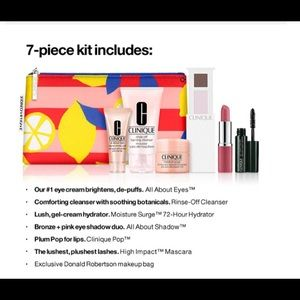 May 2020 Clinique GWP 7-piece set